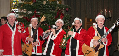Jazz for chritmas from the swinging santas